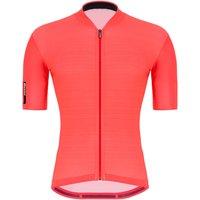 Santini Colore Jersey - XL - Granatina Orange