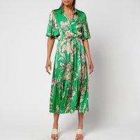 Munthe Women's Tanta Dress - Green - FR 40/UK 14
