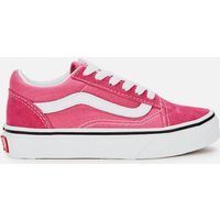 Vans Kids' Old Skool Trainers - Fuchsia Purple - UK 2 Kids