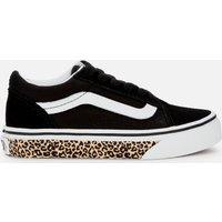 Vans Kids' Old Skool Trainers - Leopard/Black - UK 13 Kids