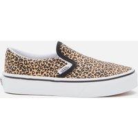 Vans Kids' Classic Slip-On - Leopard/Black - UK 13 Kids