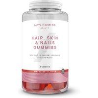 Hair, Skin & Nails Gummies (Vegan) - 30servings - Strawberry