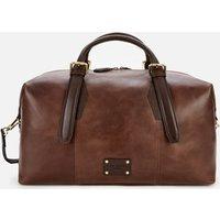 Ted Baker Mens Caiman Leather Holdall Bag - Brown