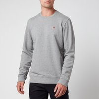 Napapijri Men's Balis Crewneck Sweatshirt - Grey Melange - XL