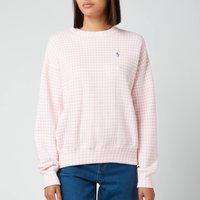 Polo Ralph Lauren Women's Gingham Jumper - Garden Pink/White - S