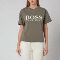 BOSS Women's C_Evina 1_Active T-Shirt - New Olive - XS
