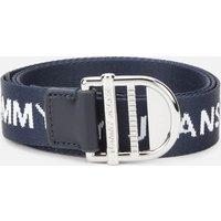 Tommy Jeans Women's Tjw Webbing Essential Belt - Twilight Navy - 90cm/L