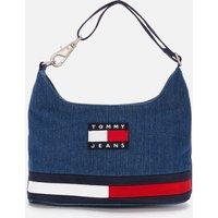 Tommy Jeans Womens Tjw Heritage Shoulder Bag Denim - Denim