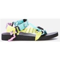 Arizona Love Women's Trekky Bandana Sandals - Mix Aqua - UK 6