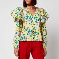 Resume Women's Claris Shirt - Yellow - DK 40/UK 10
