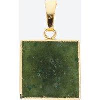 Crystal Haze Women's Green Quartz Pendant - Green