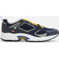 Tommy Jeans Men's Archive Mix Running Style Trainers - Twilight Navy - UK 7