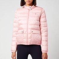 Tommy Hilfiger Women's Nylon LW Padded Jacket - Glacier Pink - M