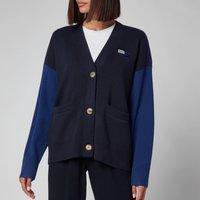 Tommy Hilfiger Womens Icon Org Cotton Flag Cardigan - Desert Sky - M