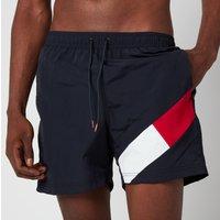 Tommy Hilfiger Men's Leg Flag Swim Shorts - Desert Sky - S