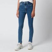 Calvin Klein Jeans Women's High Rise Skinny Jeans - Denim Medium - W28