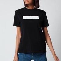 Calvin Klein Jeans Women's Hero Logo T-Shirt - CK Black/Bright White - XS