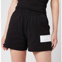 Calvin Klein Jeans Women's Hero Logo Knitted Shorts - CK Black/Bright White - M
