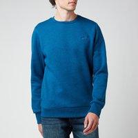Superdry Men's Orange Label Classic Sweatshirt - Dark Cobalt Marl - M