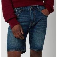 Superdry Men's Tapered Denim Shorts - Abernathy Dark Blue - W32