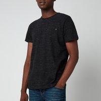 Superdry Men's Orange Label Vintage T-Shirt - Vast Black Space Dye - S