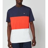 Tommy Jeans Mens Classic Colour Block T-Shirt - Horizon/Multi - M