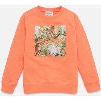 KENZO Boys' Loevan Sweatshirt - Orange - 6 Years