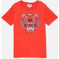 KENZO Boys' Tiger T-Shirt - Tomato - 4 Years