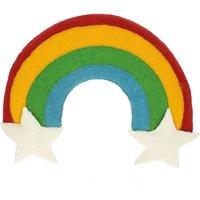 Fiona Walker England Rainbow and Stars Wall Hanger