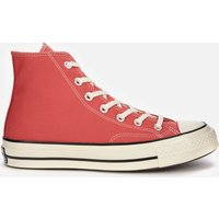 Converse Chuck 70 Recycled Canvas Hi-Top Trainers - Red - UK 7