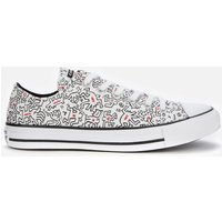 Converse Keith Haring Chuck Taylor All Star Ox Trainers - White/Black/Red - UK 6