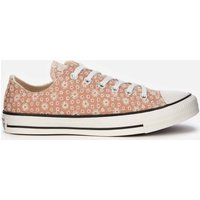 Converse Women's Chuck Taylor All Star Ox Trainers - Vachetta Beige/Natural Ivory/Vintage White - UK