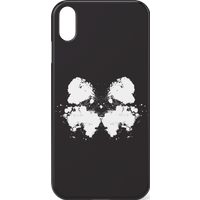 Rorschach Inkblot Black Phone Case for iPhone and Android - iPhone 11 - Snap Case - Matte