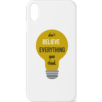 Don't Believe Everything You Think Phone Case for iPhone and Android - iPhone 5C - Snap Case - Matte