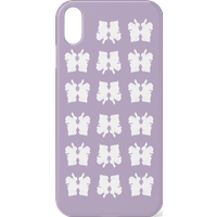 Rorschach Inkblots Purple Phone Case for iPhone and Android - iPhone 11 - Snap Case - Matte