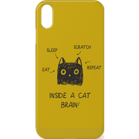 Inside A Cat Brain Phone Case for iPhone and Android - Samsung S6 Edge Plus - Snap Case - Matte