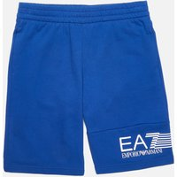 EA7 Boys' Train 7 Lines Bermuda Shorts - Mazarine - 8 Years