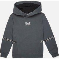 EA7 Boys' Train Logo Series Hoodie - Iron Gate - 10 Years
