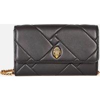 Kurt Geiger London Womens Kensington Quilt Wallet - Black