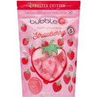 Bubble T Bath Crumble - Strawberry 250g