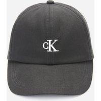 Calvin Klein Jeans Girl's Monogram Baseball Cap - Black - L-XL