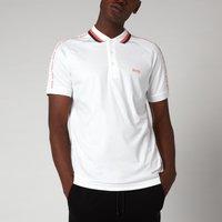 BOSS Athleisure Mens Paule 2 Polo Shirt - White - L