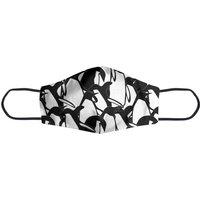 Black And White Penguins Face Mask - L