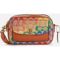 Coach Womens Pride Signature Willow Camera Bag - Multi