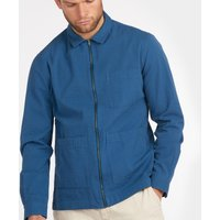 Barbour Men's Saltburn Overshirt - Ensign Blue - S