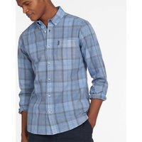 Barbour Mens Tartan 18 Long Sleeve Shirt - Pigment Blue - M