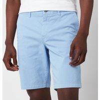 BOSS Casual Men's Slim Fit Shorts - Open Blue - W32