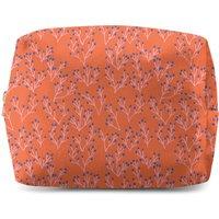 Coral Makeup Bag