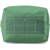Green Court Makeup Bag