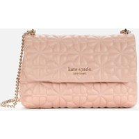 Kate Spade New York Womens Bloom Quilt Small Shoulder Bag - Flapper Pink